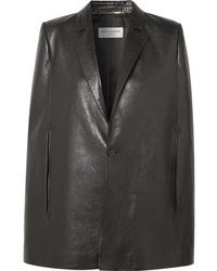 Saint Laurent Leather Cape