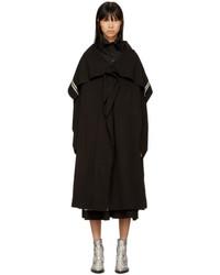 Y's Black Cape Coat