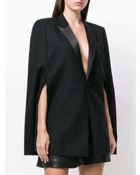 Saint Laurent Cape Style Blazer