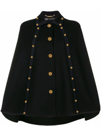 Versace Embellished Cape Coat