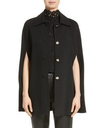 St. John Collection Milano Knit Collared Cape