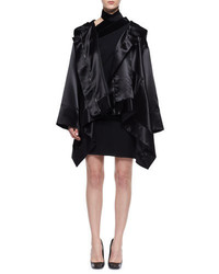 Tom Ford Oversized Satin Cape Coat