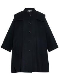Stella McCartney Regina Wool Blend Cape Coat