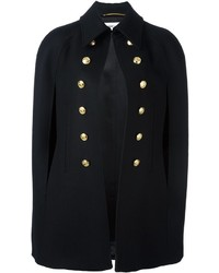Saint Laurent Military Style Cape