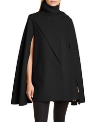 Valentino Scarf Detail Wool Cashmere Cape