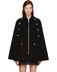 See by Chloe See By Chlo Black Military Cape Coat
