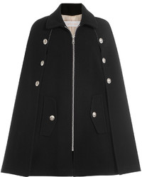 See by Chloe See By Chlo Wool Cape With Embossed Buttons