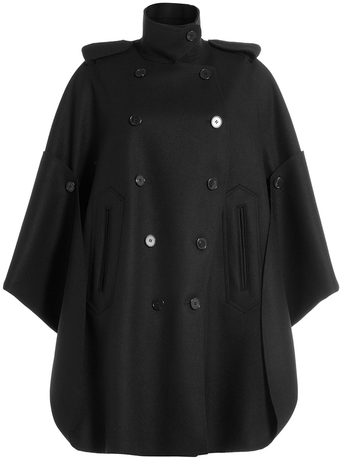 Valentino Virgin Wool Cape