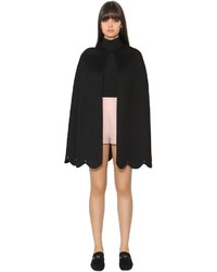 Valentino Wool Cashmere Cloth Cape