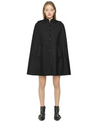 RED Valentino Wool Cloth Military Cape