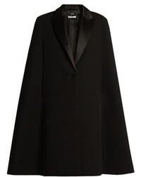 Givenchy Wool Tuxedo Cape