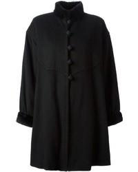 Yves Saint Laurent Vintage Cape Style Coat