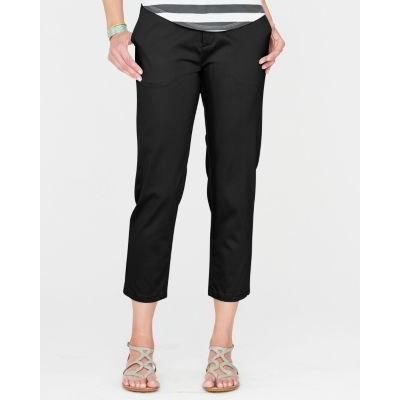Garnet Hill Sateen Capri Pants 12 Black | Where to buy & how to wear