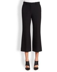 Theory Inza Wide Leg Cropped Pants