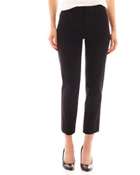 jcpenney Jcp Crossover Ankle Pants