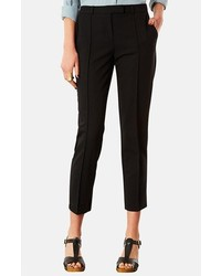 Topshop Crop Cigarette Pants Black Size 12 12