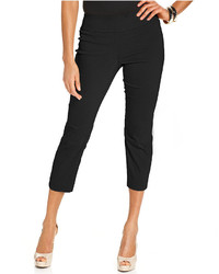 Alfani Tummy Control Pull On Capri Pants Only At Macys