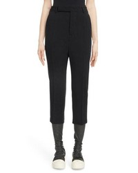 Rick Owens Wool Crop Pants