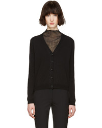 Maison Margiela Black Gauge 14 Cardigan