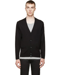 Marc by Marc Jacobs Black Grey Colorblock Cardigan