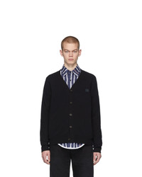 Acne Studios Black Keve Face Cardigan
