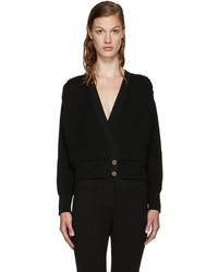 Loewe Black Pleated Cardigan