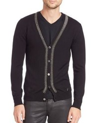 Versace Collection Chain Cardigan