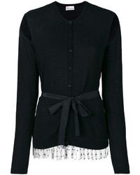 RED Valentino Cut Out Detail Tied Cardigan
