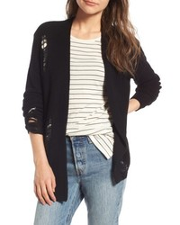 Distressed Cotton Cardigan