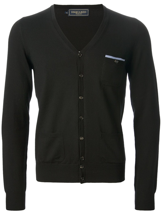 DSquared 2 V Neck Cardigan | Where to buy & how to wear