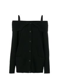 Prada Off The Shoulder Cardigan