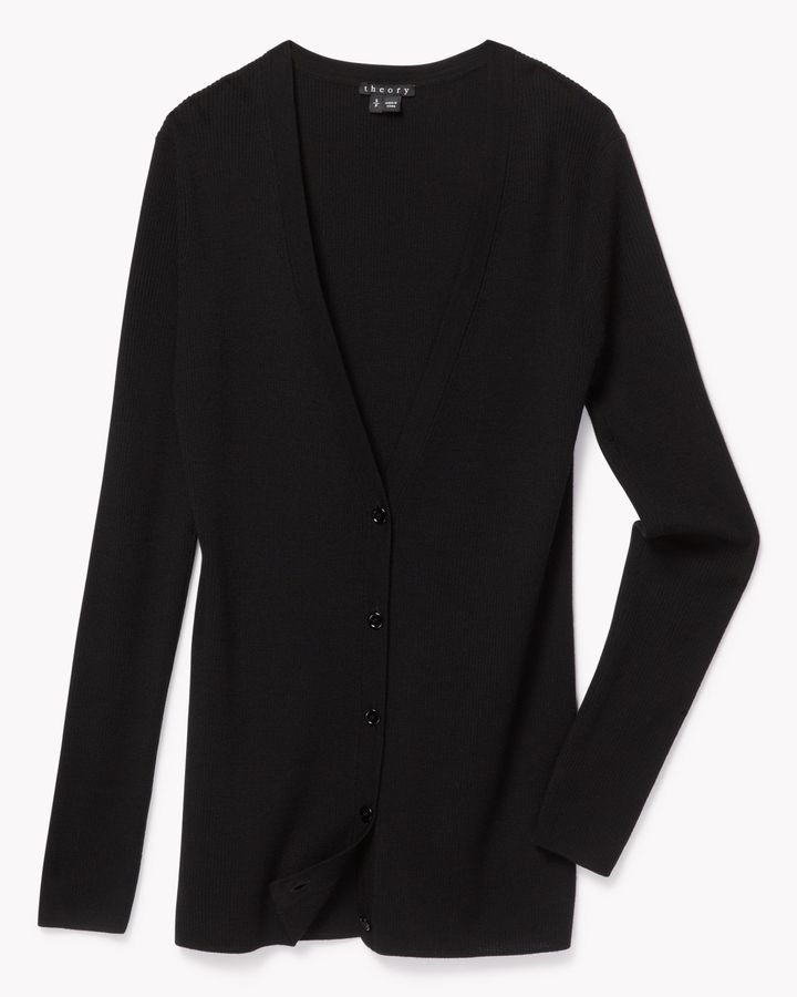 Theory Light Wool Cardigan | Where to buy & how to wear