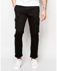 Asos Ringspun Slim Fit Cargo Pants