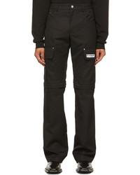 Misbhv Black 2 In 1 Cargo Pants