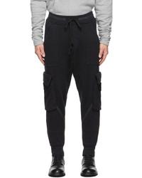 Greg Lauren Black Army Basic Cargo Pants