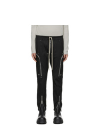 Rick Owens Black Bauhaus Cargo Pants