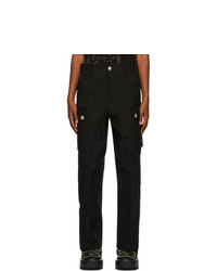Sankuanz Black Cargo Pants