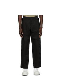 Loewe Black Cargo Trousers