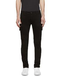 Black chi reeves cargo pants medium 606251