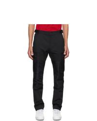 Versace Black Cotton Cargo Pants