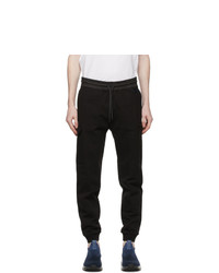 Z Zegna Black Cotton Cargo Pants