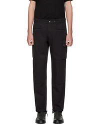 Maison Margiela Black Cotton Cargo Pants