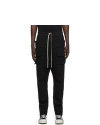 Rick Owens DRKSHDW Black Creatch Cargo Pants