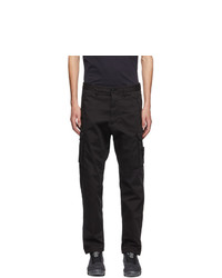 Stone Island Black Ghost Cargo Pants