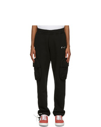Off-White Black Logo Cargo Pants