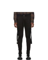 Amiri Black Lounge Cargo Pants