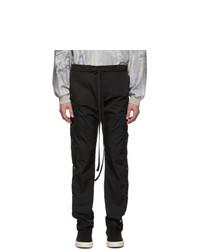 Fear Of God Black Nylon Cargo Pants