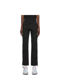 Off-White Black Slim Cargo Pants