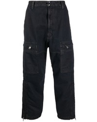 Diesel D Luk Multi Pocket Cropped Trousers