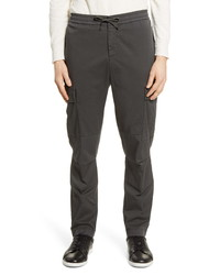 Officine Generale Jay Slim Fit Gart Dyed Cargo Pants